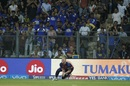 Ben Stokes takes a catch to send back Hardik Pandya, Mumbai Indians v Rising Pune Supergiant, IPL 2017, Mumbai, April 24, 2017
