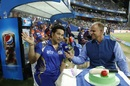 Sachin Tendulkar celebrated his 44th birthday in front of a doting Wankhede crowd, Mumbai Indians v Rising Pune Supergiant, IPL 2017, Mumbai, April 24, 2017