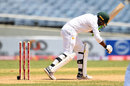 Wahab Riaz had his bails trimmed by a precise delivery, West Indies v Pakistan, 1st Test, Jamaica, 4th day, April 24, 2017