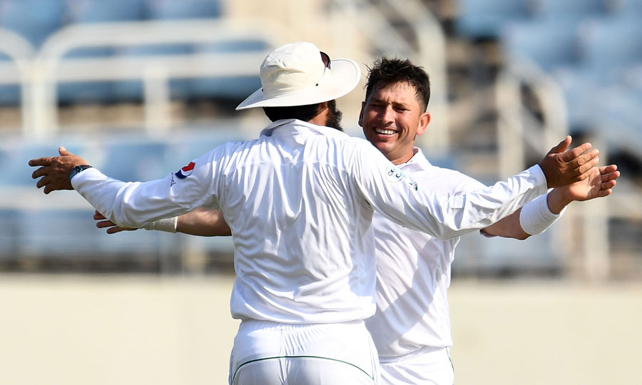 Misbah-ul-Haq and Yasir Shah put Pakistan in a position of dominance