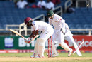 Kraigg Brathwaite loses his off stump, West Indies v Pakistan, 1st Test, Jamaica, 4th day, April 24, 2017