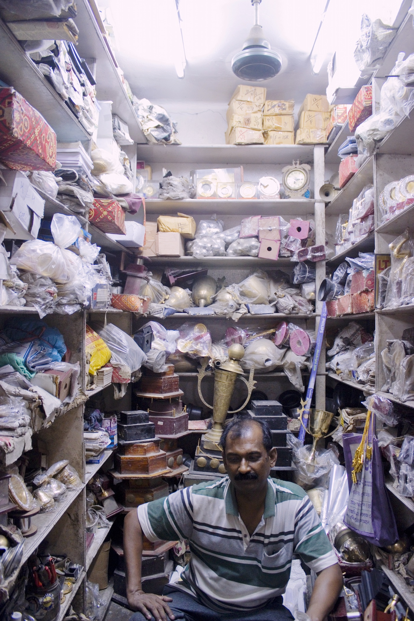 A room of one's own at the Maidan Market in Kolkata
