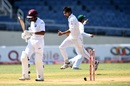 Mohammad Amir celebrates after bowling Vishaul Singh, West Indies v Pakistan, 1st Test, Jamaica, 5th day, April 25, 2017