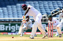 Jason Holder times a straight drive sweetly, West Indies v Pakistan, 1st Test, Jamaica, 5th day, April 25, 2017