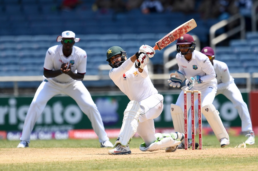 Misbah makes 99 again, Pakistan in strong position against Windies