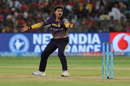 Kuldeep Yadav appeals for a wicket, Kolkata Knight Riders v Rising Pune Supergiant, IPL 2017, Pune, April 26, 2017