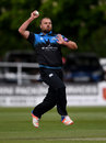 Joe Leach led the way with the ball, Worcestershire v Nottinghamshire, Royal London Cup, North Group, New Road, April 27, 2017