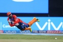 Dinesh Karthik tries to release the ball quickly, Royal Challengers Bangalore v Gujarat Lions, IPL 2017, Bengaluru, April 27, 2017