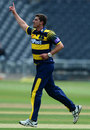 Marchant de Lange struck early in the chase, Gloucestershire v Glamorgan, Royal London Cup, South Group, Bristol, April 27, 2017