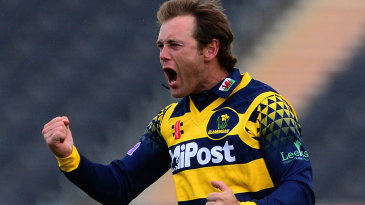 Colin Ingram helped close out victory with three wickets