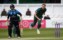 Stuart Broad sent down four wicketless overs for 34, Worcestershire v Nottinghamshire, Royal London Cup, North Group, New Road, April 27, 2017