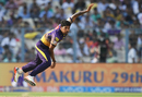 Umesh Yadav was expensive in his first over, Kolkata Knight Riders v Delhi Daredevils, IPL 2017, Kolkata, April 28, 2017