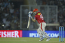 Shaun Marsh plays a square drive, Kings XI Punjab v Sunrisers Hyderabad, IPL 2017, Mohali, April 28, 2017