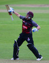 Roelof van der Merwe finished unbeaten on 165, Somerset v Surrey, Royal London Cup, South Group, Taunton, April 28, 2017