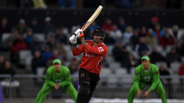 Cameron Delport hits out for Leicestershire