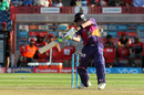 Steven Smith plays a cut, Rising Pune Supergiant v Royal Challengers Bangalore, IPL 2017, Pune, April 29, 2017