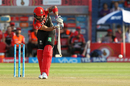Virat Kohli guides one to the leg side, Rising Pune Supergiant v Royal Challengers Bangalore, IPL 2017, Pune, April 29, 2017