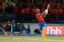 Brendon McCullum connects with the hot and dry Rajkot air, Gujarat Lions v Mumbai Indians, IPL, Rajkot, April 29, 2017