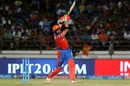 Andrew Tye launches one down the ground, Gujarat Lions v Mumbai Indians, IPL, Rajkot, April 29, 2017