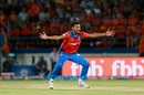 Ankit Soni makes an appeal, Gujarat Lions v Mumbai Indians, IPL, Rajkot, April 29, 2017
