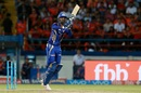 Krunal Pandya hoicks one straight, Gujarat Lions v Mumbai Indians, IPL, Rajkot, April 29, 2017