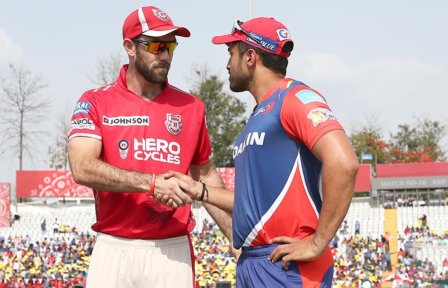 Kings XI Punjab v Delhi Daredevils, IPL 2017, Mohali
