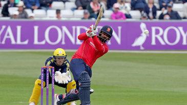 Ashar Zaidi plundered 72 off 40 balls