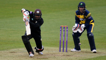 Kumar Sangakkara eased Surrey to a comfortable cahse