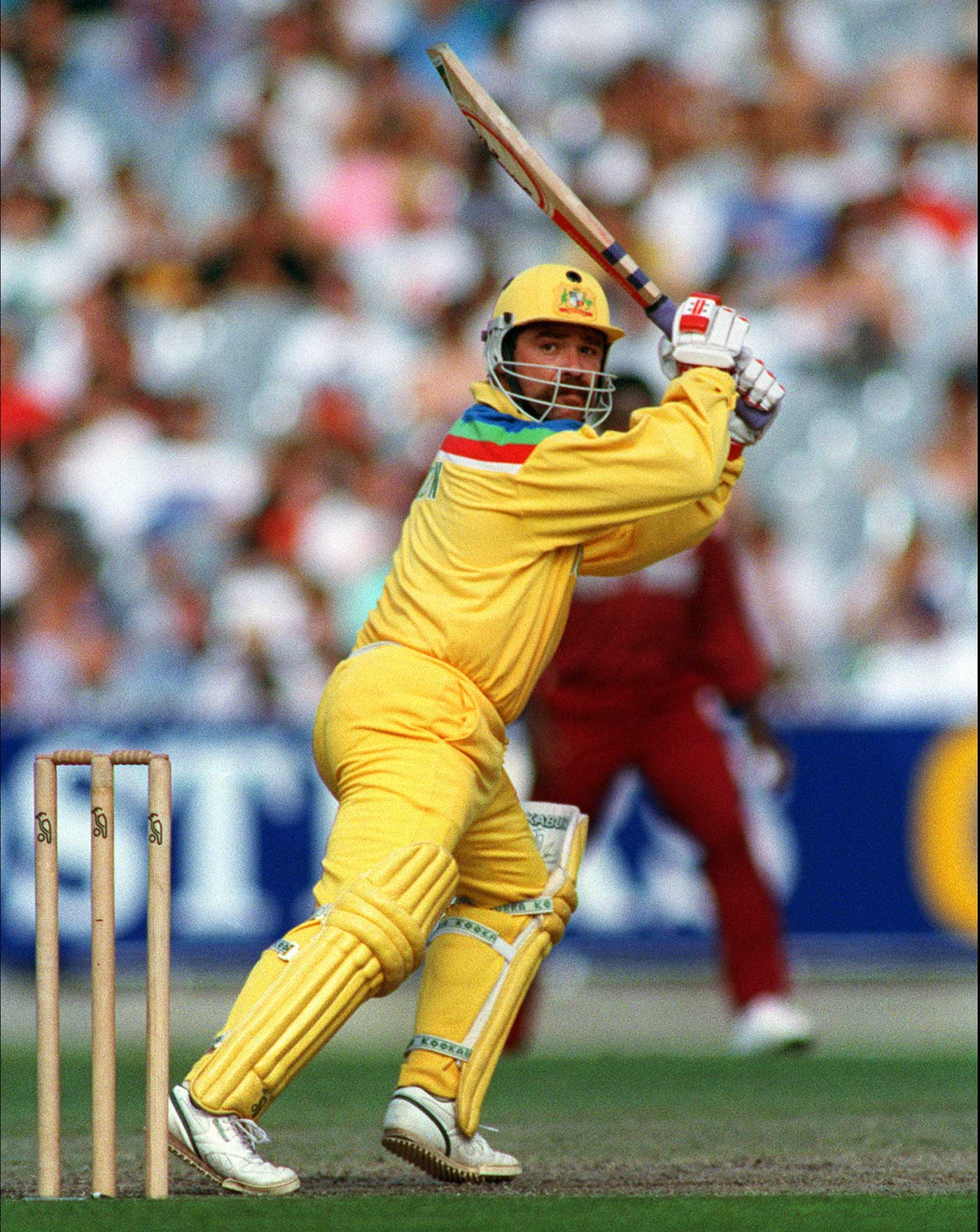 David Boon in 1992: who said Australia couldn't rock the England colours?