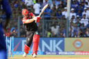 Shane Watson was bowled for 3, Mumbai Indians v Royal Challengers Bangalore, IPL 2017, Mumbai, May 1, 2017