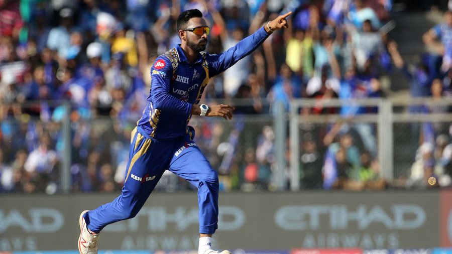 Krunal Pandya dismissed AB de Villiers for the fourth time in four matches