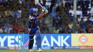 Rohit Sharma targets the leg side