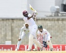 Alzarri Joseph is bowled off a full toss, West Indies v Pakistan, 2nd Test, Bridgetown,2nd day, May 1, 2017