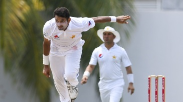 Mohammad Abbas finished with 4 for 56 in his second Test