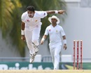 Mohammad Abbas finished with 4 for 56 in his second game, West Indies v Pakistan, 2nd Test, Bridgetown,2nd day, May 1, 2017