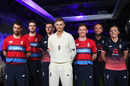 Players showcase the new England kits, London, May 2, 2017