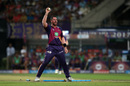 Daniel Christian reacts after running out Chris Woakes, Kolkata Knight Riders v Rising Pune Supergiant, IPL 2017, Kolkata, May 3, 2017