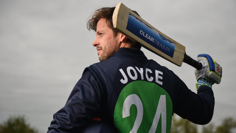 Joyce retires from county cricket to chase Ireland Test desire