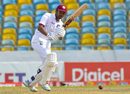 Vishaul Singh works the ball into the leg side, West Indies v Pakistan, 2nd Test, Bridgetown, 4th day, May 3, 2017