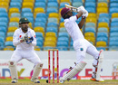 Shai Hope pulls one away, West Indies v Pakistan, 2nd Test, Bridgetown, 4th day, May 3, 2017