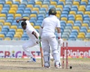 Yasir Shah is bowled by Shannon Gabriel, West Indies v Pakistan, 2nd Test, Bridgetown, 5th day, May 4, 2017