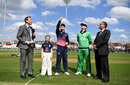 Eoin Morgan tosses the coin as William Porterfield calls, England v Ireland, 1st ODI, Bristol, May 5, 2017