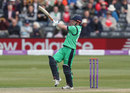 Ed Joyce swivels to pull, England v Ireland, 1st ODI, Bristol, May 5, 2017