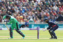 Stuart Thompson is bowled by Adil Rashid as Ireland's slide continues, Will Porterfield, England v Ireland, 1st ODI, Bristol, May 5, 2017