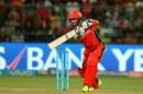 Mandeep Singh drives the ball for a four, Royal Challengers Bangalore v Kings XI Punjab, IPL 2017, Bengaluru, May 5, 2017