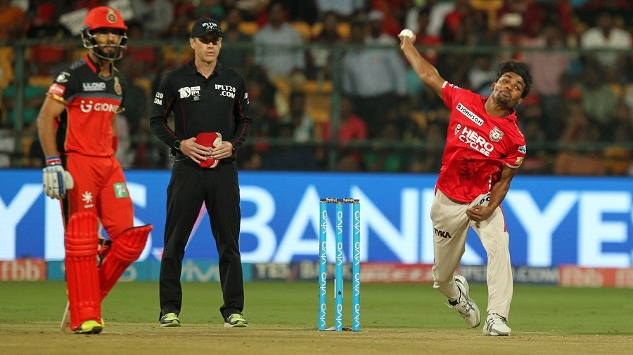 Sandeep Sharma delivered a fiery opening spell