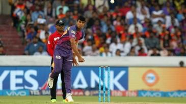 Washington Sundar shared the new ball with Jaydev Unadkat
