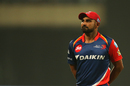 Mohammed Shami went for 11 runs in his first over, Delhi Daredevils v Mumbai Indians, IPL 2017, Delhi, May 6, 2017