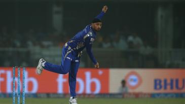 Harbhajan Singh bagged a three-wicket haul