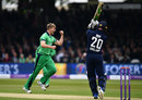 Jason Roy crunched a drive to cover off Barry McCarthy, England v Ireland, 2nd ODI, Lord's, May 7, 2017
